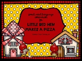 """Little Red Hen Makes A Pizza"" Book Companion for Speech Therapy"
