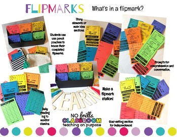 #nofrillsFLIPMARK Reading Flipmarks for 6 Genres+