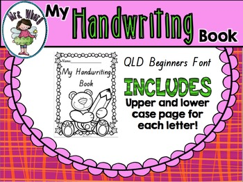 Nsw font handwriting teaching resources teachers pay teachers nsw font handwriting book fandeluxe Image collections