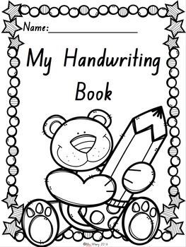 {NSW Font} Handwriting Book
