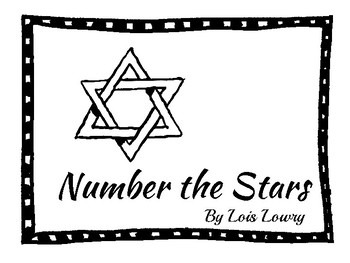 **NUMBER THE STARS COMPLETE NOVEL UNIT**