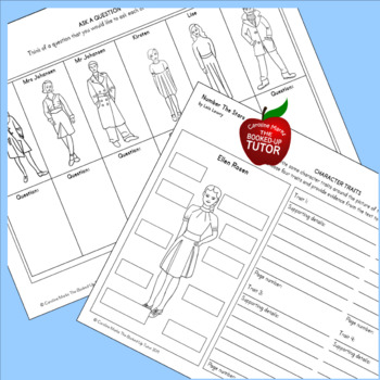 {NUMBER THE STARS NOVEL STUDY} {NUMBER THE STARS GRAPHIC ORGANIZERS}