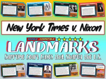 -NY Times v. United States- Landmark Supreme Court Case (P