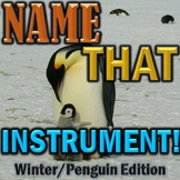 "Winter Orchestra Game ""Name That Instrument"" Elementary Music - Great for Sub!"