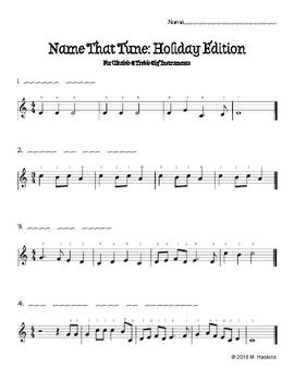 """Name That Tune"": Christmas Edition"