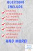 """""""Names/Nombres"""" by Julia Alvarez Multiple-Choice Reading Comprehension Quiz/Test"""