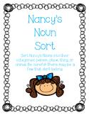 {{Nancy Noun Sorting Activity}}