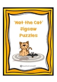 'Nat the Cat' CVC Word Jigsaw Puzzles