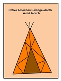 *Native American Heritage Month* Word Search