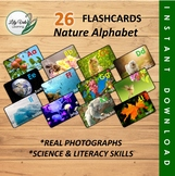 """""""Nature Alphabet Cards"""" by LilyVale Learning"""
