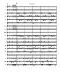 """Needed Me"" High School Marching Band Score/Tune"