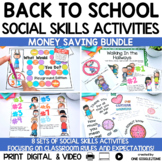 Back To School Classroom Social Story Bundle
