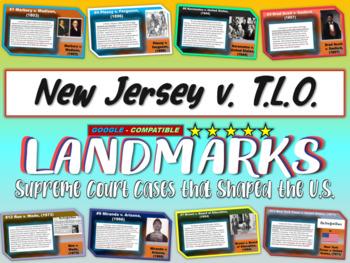 -New Jersey v. T.L.O.- Landmark Supreme Court Case (PPT, h