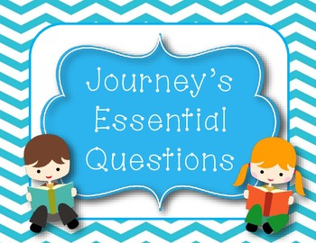 ** New** Journey's Essential Questions