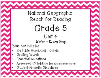 National Geographic Reach for Reading Grade 5 Unit 5 Pack!