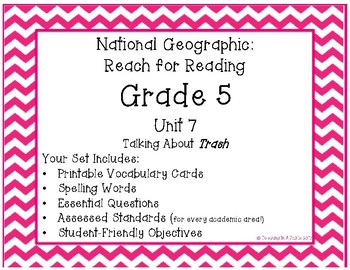 **New**  National Geographic Reach for Reading Grade 5 Unit 7 Pack!