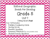 National Geographic Reach for Reading Grade 5 Unit 7 Pack!