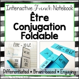 Être Verb Conjugation: French Interactive Notebook