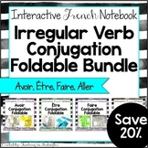 French Irregular Verbs Foldables GROWING Bundle: French In