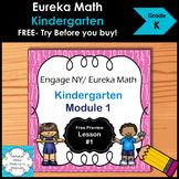 Eureka Math Kindergarten Module 1  Lesson 1 Try Before you Buy