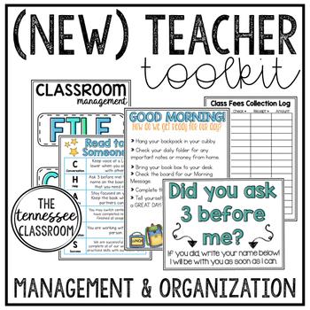 (New) Teacher Toolkit {EDITABLE}