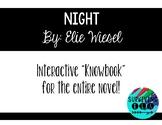 """Night"" By Elie Wiesel Novel Interactive Knowbook"