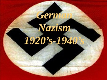"""""""Night"""" Intro to Nazism Powerpoint"""