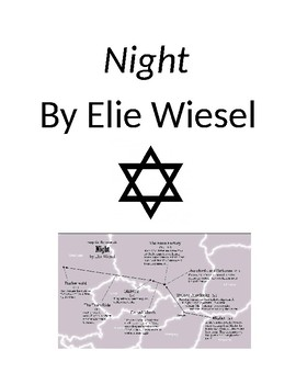 """""""Night"""" by Elie Wiesel Unit"""