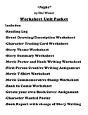 """Night"" by Elie Wiesel Worksheet Packet (12 Assignments)"