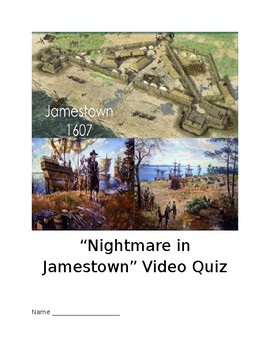 """Nightmare in Jamestown"" video quiz"