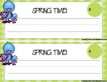 """No-Fuss"" 4 Seasons Desk Name Tags"