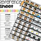 No Grading System with Stickers + Reference Sheet
