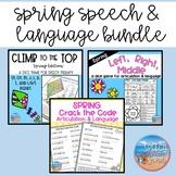 *No PREP* Speech & Language Spring Bundle