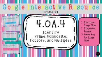 *No Prep* 4.OA.4 - Interactive Task Cards
