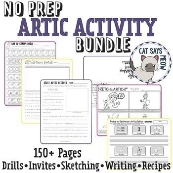 •No Prep• ARTIC ACTIVITIES! BUNDLE (Articulation)