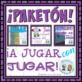 A JUGAR con JUGAR + 2 game boards = a FUN time reviewing and empowering