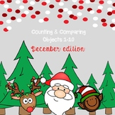 *No Prep* Counting & Comparing Objects 1-10 December