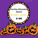 *No Prep* Counting & Comparing Objects 1-10 October Edition