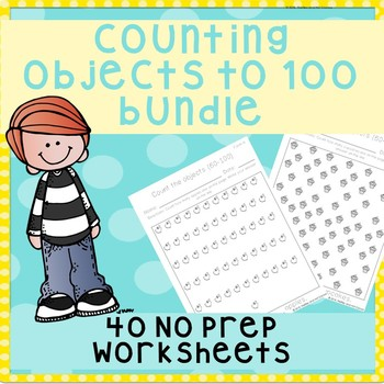 *No Prep* Counting objects 1-100 Bundle