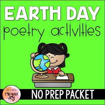 Earth Day Poetry Packet (No Prep!)