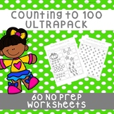 *No Prep* Pages Counting Objects to 100 Mega-Bundle