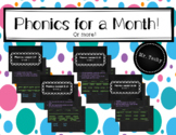 *No Prep* Phonics for a Month! (or More)