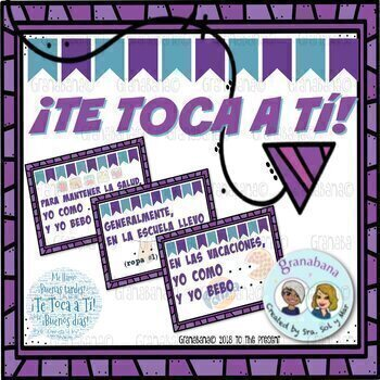(No Prep) ¡Te Toca a Tí! - It's Your Turn!  (To Start the Class)