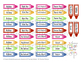 """No School"" Teacher Crayon Stickers PRINTABLE"