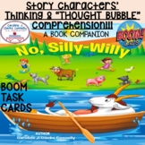 BOOM CARDS, Comprehension of Story Characters' THINKING/THOUGHTS, Book Companion