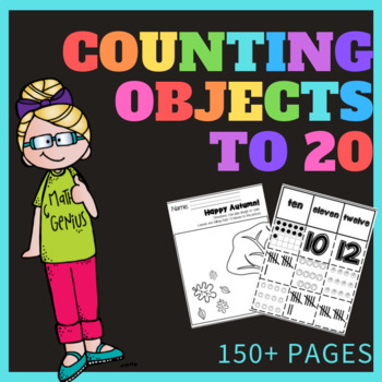 Counting Objects To 20 Worksheet Teaching Resources Teachers Pay