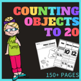 *No prep* Counting Objects to 20 Worksheets