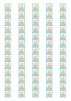 (Non) Fiction Genre Spine Labels: Biographies - Avery A4 L7651