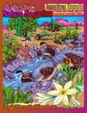 """North American Deserts"" Art & Nature-Science Unit"