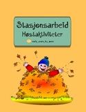 *Norwegian* Høstaktiviteter for stasjonsarbeid